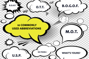 10 COMMONLY USED ABBREVIATIONS