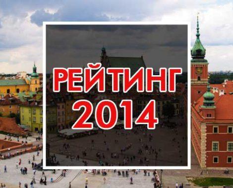 Рейтинги высших учебных заведений Польши за 2014 год
