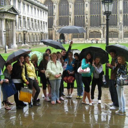 Каникулы в Select English Cambridge, Англия