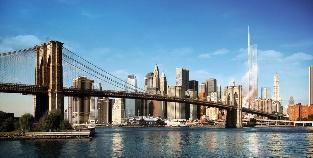 Бруклинский мост, Нью-йоркская Ратуша и Темпл Корт