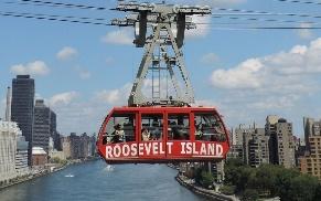Канатная дорога к рузвельтскому острову
