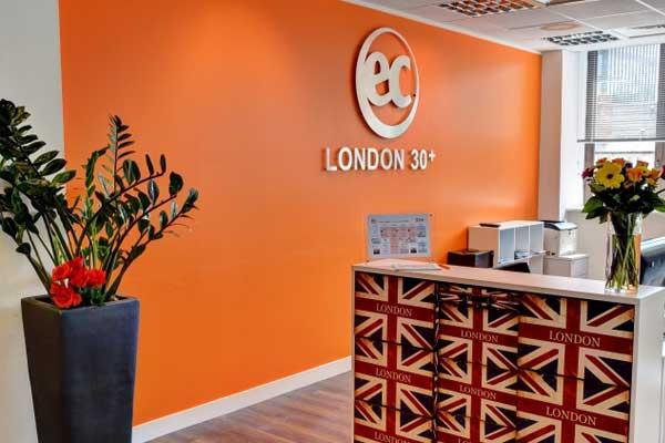 Английский для взрослых 30 + в Англии, Лондон