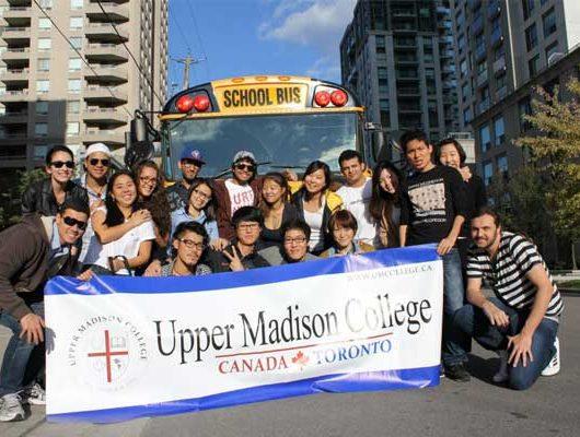 Курси англійської мови в Канаді, Торонто | Upper Madison College