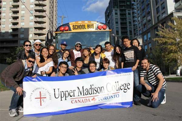 Курсы английского языка в Канаде, Торонто | Upper Madison College