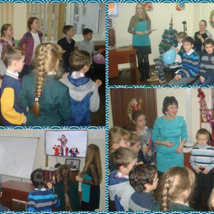 Новорічний урок англійської мови в офісі Albion Education
