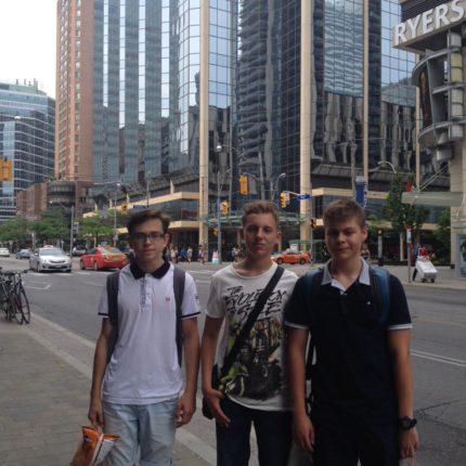 Каникулы в University of Toronto, Канада