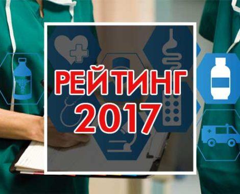 Мировой рейтинг университетов по направлениям 2017 (Медико-биологические науки)