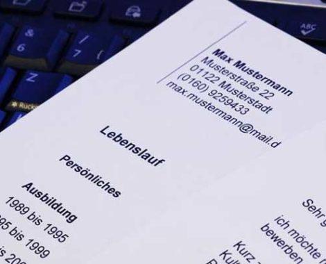 Резюме Lebenslauf поступлении в университет Германии
