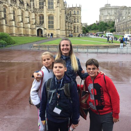 Каникулы в St. Mary's School, Англия