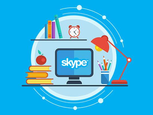 Английский с носителем по Skype