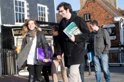 Курсы английского языка в Англии, Льюис | Sussex Downs College