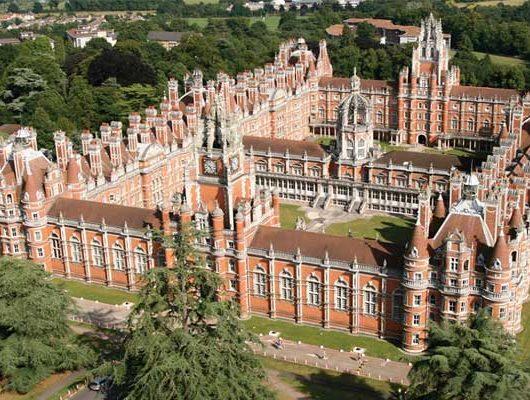 Літні канікули в Англії, Лондон | Royal Holloway, University of London