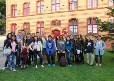 Уикенд в Берлине, школьный обмен, Германия