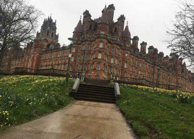 Весенние каникулы в Royal Holloway College