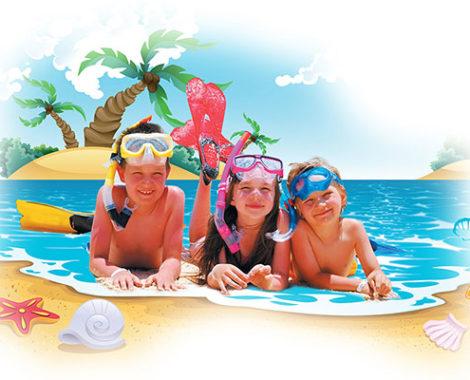 Літні канікули за кордоном!