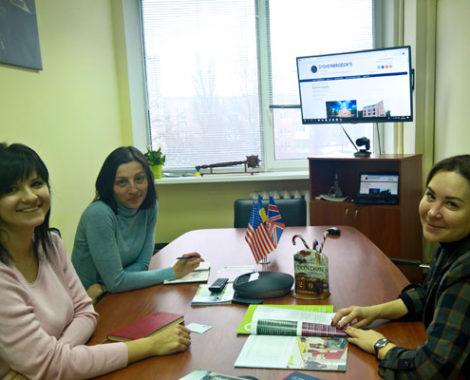 Встреча с представителем образовательной группы Oxford International в офисе Albion Education