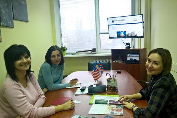 Зустріч з представником освітньої групи Oxford International в офісі Albion Education