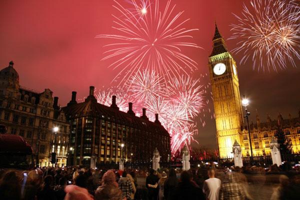 Новый год по-английски