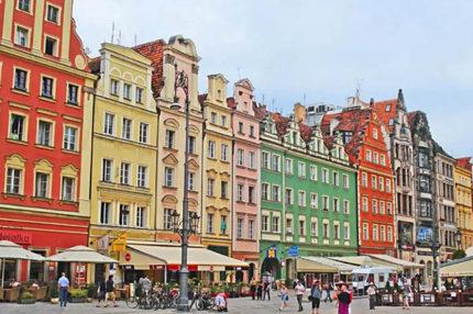 Весенние каникулы в Польше, Вроцлав