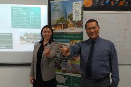 Встреча представителя University of South Florida за будущими абитуриентами