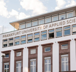 UNIVERSITY OF APPLIED SCIENCES FRANKFURT, НІМЕЧЧИНА