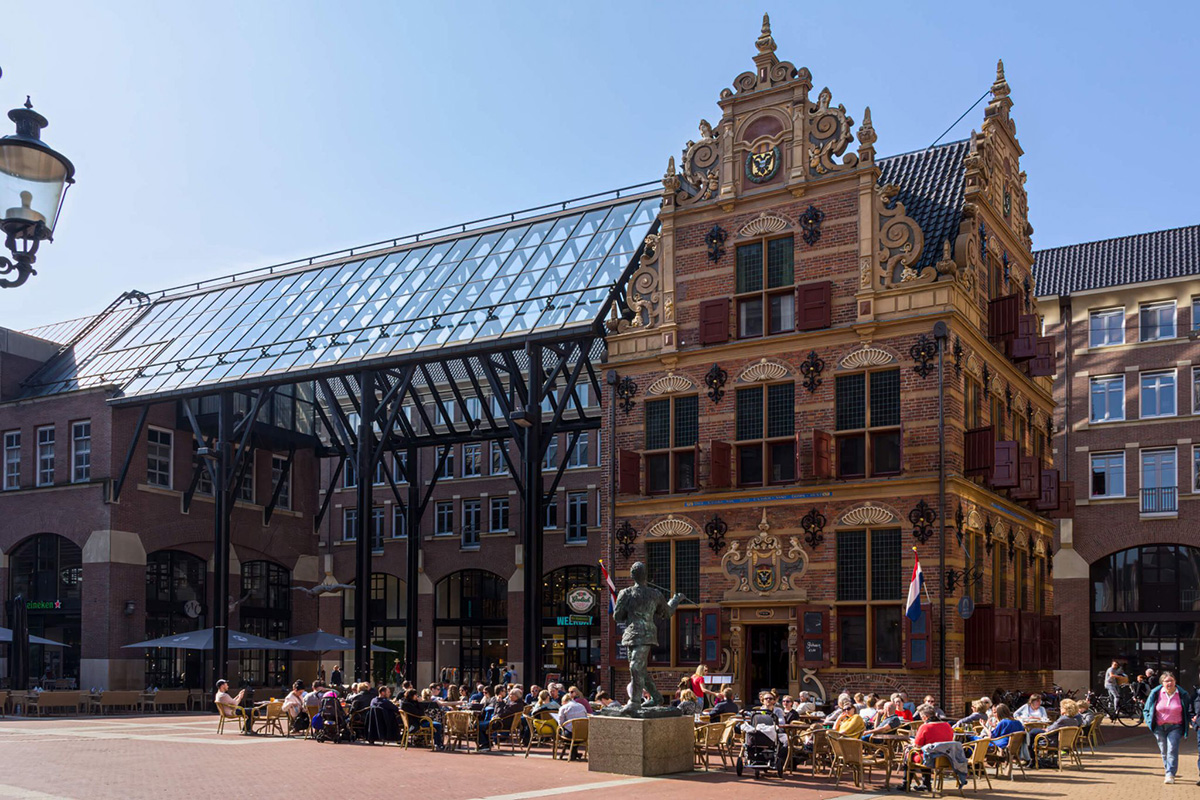 Доступное обучение в престижном голландском университете